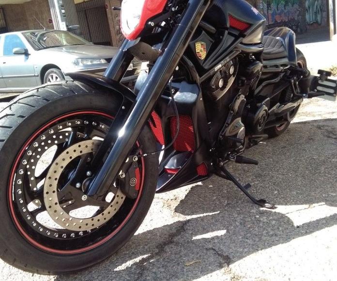 break skull choppers, harley davidson, vrod, transformacion harley davidson, personalizar motos, construccion motos
