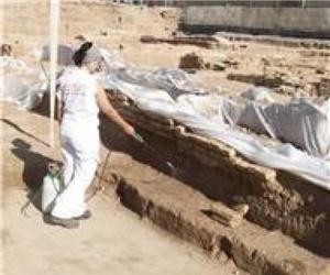 Consolidación de elementos arqueológicos
