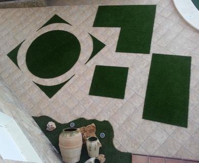 Promoción en alfombras de césped artificial.............