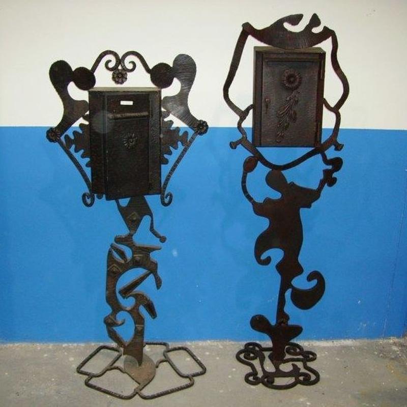 Buzones : Productos  de Forja Artesanal Hnos. González Marrón