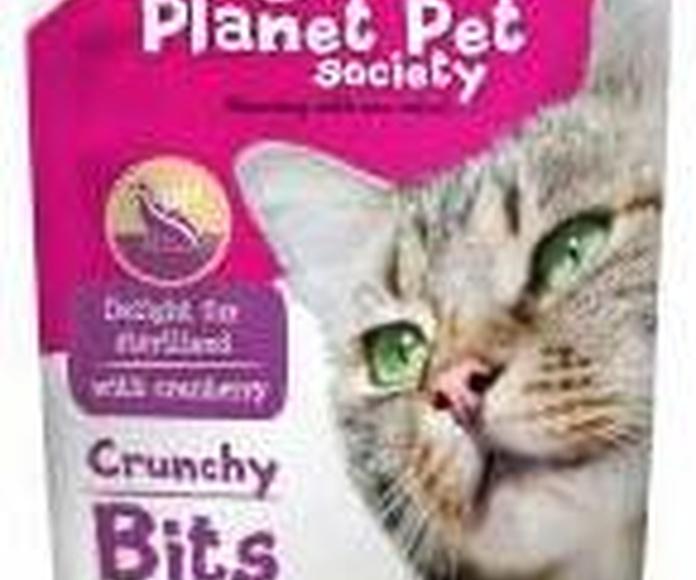 Planet Pet Snacks para gato para el cuidado de la piel y el pelaje