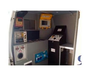 Vehículo laboratorio para trabajos de electricidad