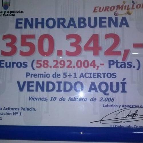 Comprar lotería en Burgos | Administración de Lotería Palacín