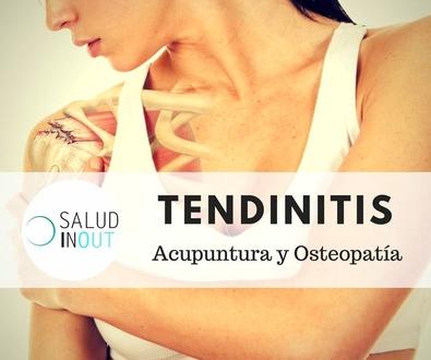 Tendinitis con Electroacupuntura y Osteopatía