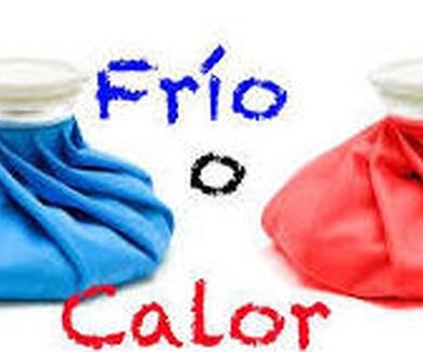 Terapia con FRIO o con CALOR ?