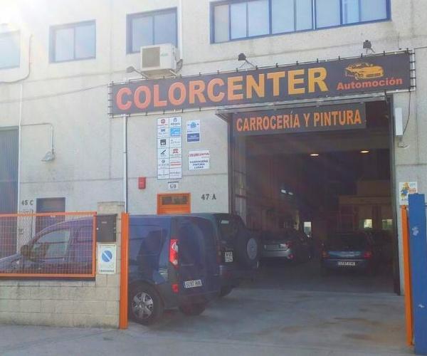 Vehículo de sustitución en Vallecas | Colorcenter Automoción