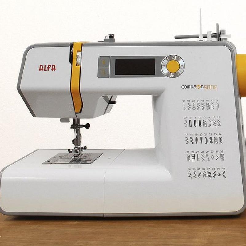 Alfa Comàkt 500E Plus: Productos de Maquinas de Coser - Servicio técnico y repuestos