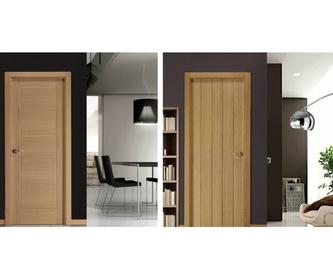 Puertas de madera: Servicios de Puertas Ascao