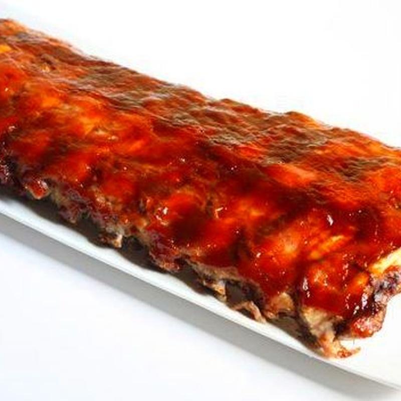 Costillar de cerdo con salsa barbacoa: Productos de Pastelería Díaz - Miguel