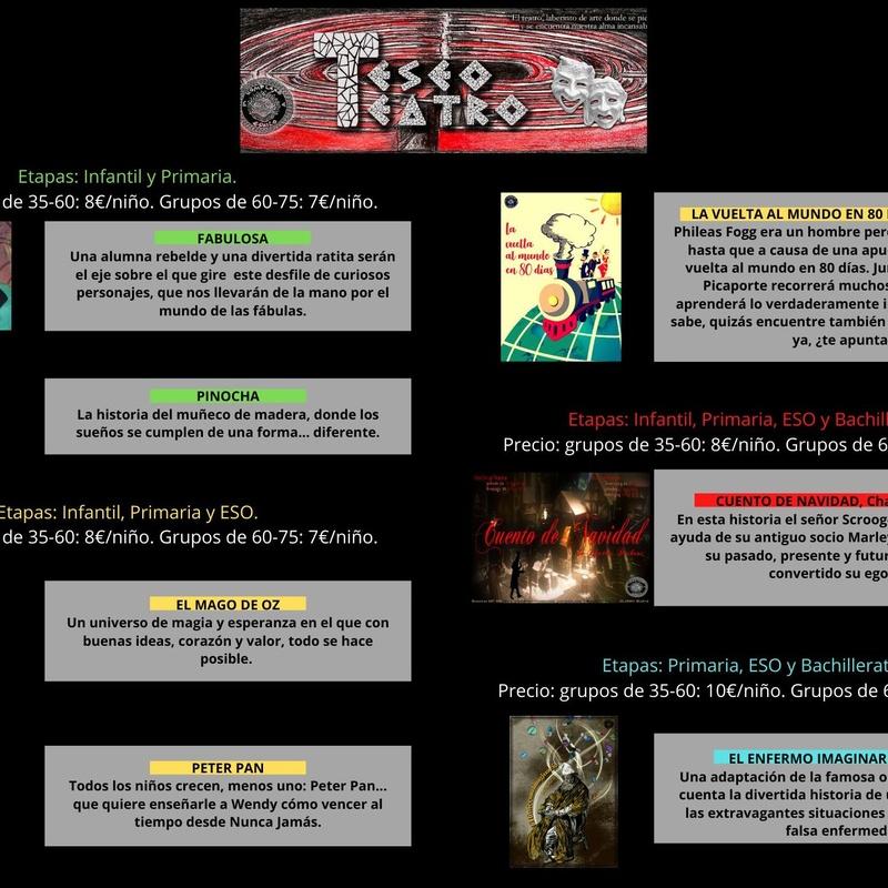 Campaña de teatro escolar en Madrid, Arganzuela