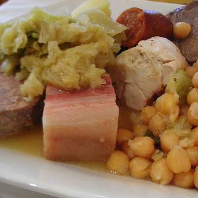 El cocido madrileño, un plato que siempre triunfa