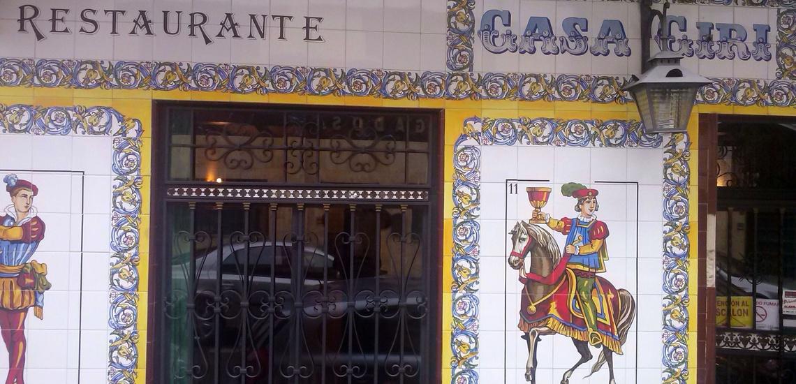 Restaurante Bodegón Ciri en Usera