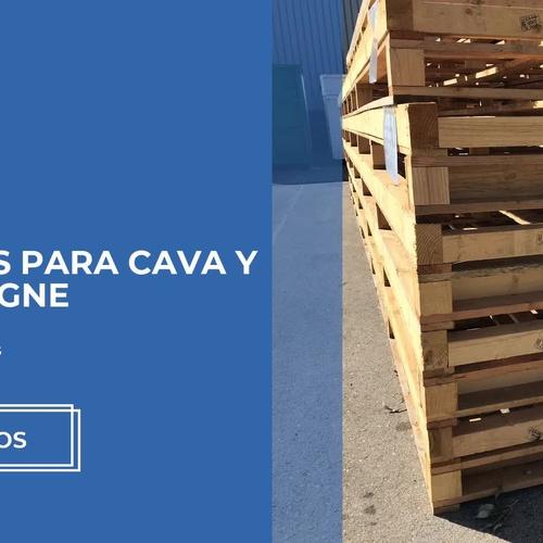 Compra venta de palets en Granollers: Uspal, S.L.U