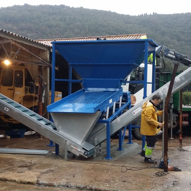 Clasificadoras Astillas de Madera Talleres Salo - Montajes 2017