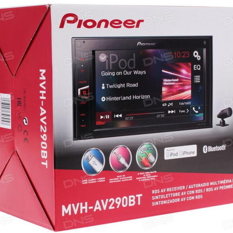 Oferta en Radio multimedia Pioneer doble din en Valencia MVH AV290BT