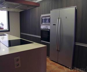Colocación de muebles de cocina