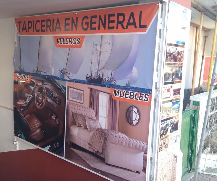 Tapiceros de coches en Tenerife Sur: Servicios de Tapicería La Bigornia