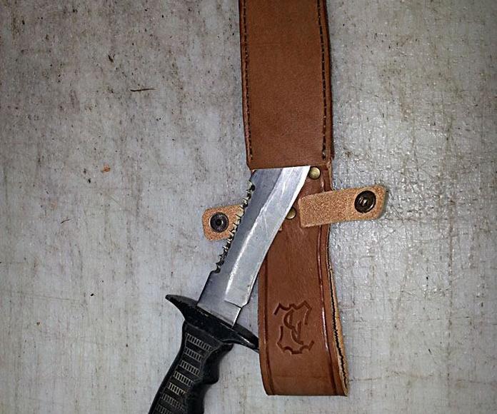 Fundas para cuchillos: Productos de piel de Pieles Domingo