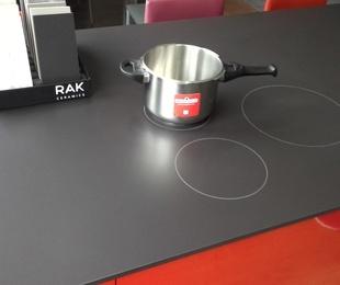 Cocinas de inducción integradas en la encimera