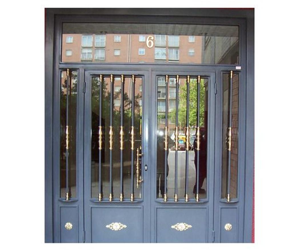 Elegir una puerta para la entrada