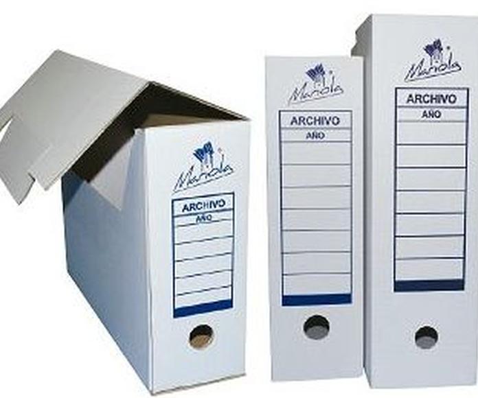 Archivo y Clasificación: Catálogo de Distribuciones Coplan, S. A.