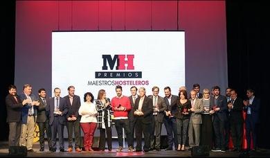 PREMIOS MAESTROS HOSTELEROS Y BRAVO DECO. Valladolid 28 de abril de 2017