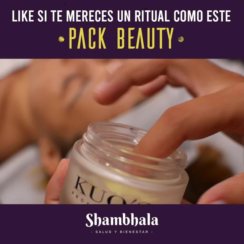 Pack Beauty Facial Corporal Relax Tratamiento Oro Alicante Limpieza Masaje Shambhala
