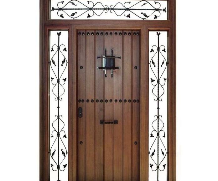 Aluminio/Puerta rústica: Categorias de Hermanos Orozco S. L.