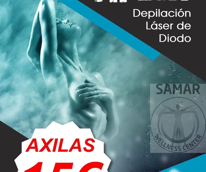 DEPILACION DE AXILAS CON LASER DE DIODO EN VALLADOLID (LASER SAPPHIRE)