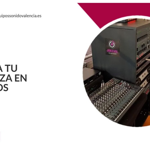 Expertos en audio y sonido en Valencia | Jukeval Eventos