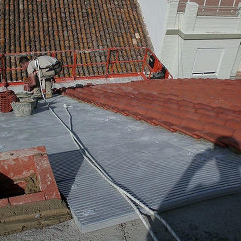 Rehabilitación de tejados: Servicios de Dim Canal