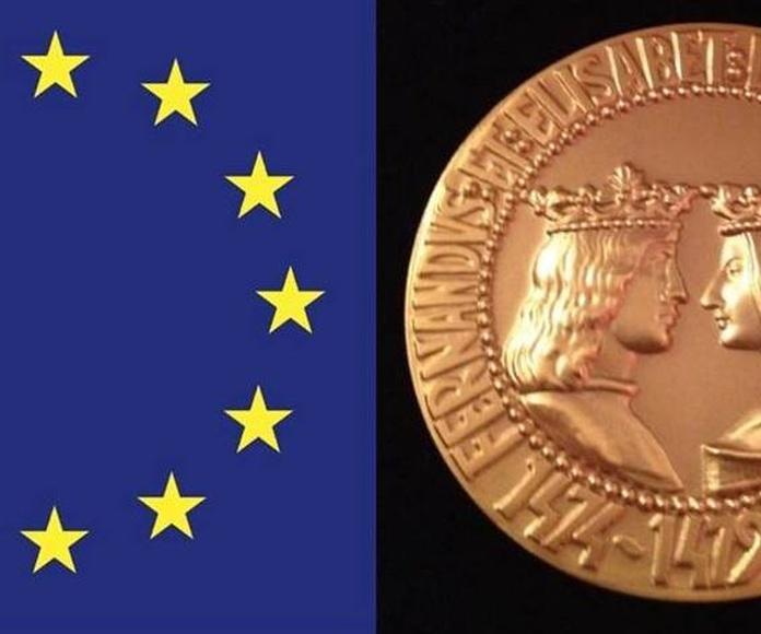 Medalla de Oro Reyes Católicos al reconocimiento empresarial 2015 Foro Europa 2010