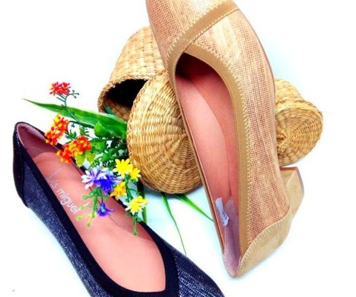 zapato tipo salon metalizado: Catalogo de productos de Zapatos Luis Miguel