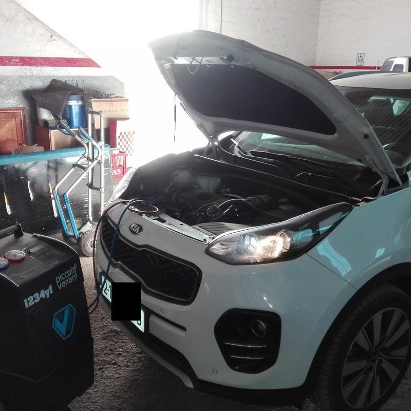 La nueva maquinaria para las cargas del nuevo gas 1234yf: Servicios de Auto Aire Jaga