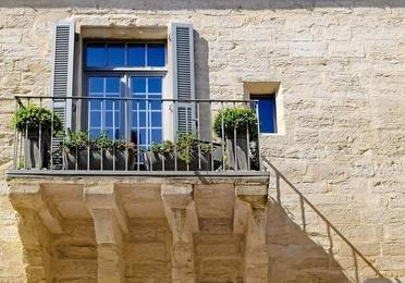 Aluminum balconies