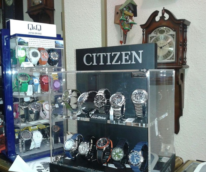 Pilas para relojes: Catálogo de Relojería Santiago