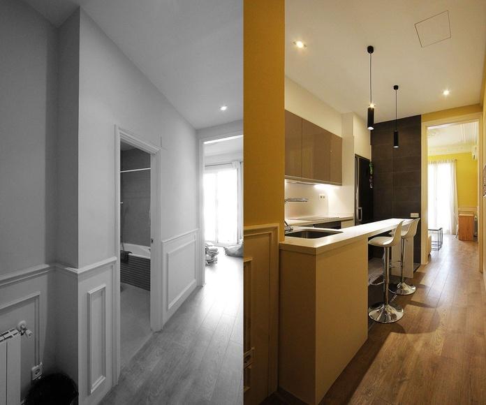 BLM116 Reforma integral de vivienda: Servicios y Proyectos de XTE INTERIORISMO