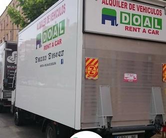 Alquiler de furgonetas: Servicios de DOAL Rent a Car