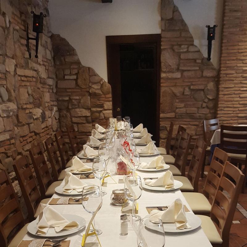 Restaurante para celebrar comidas de empresas y familias
