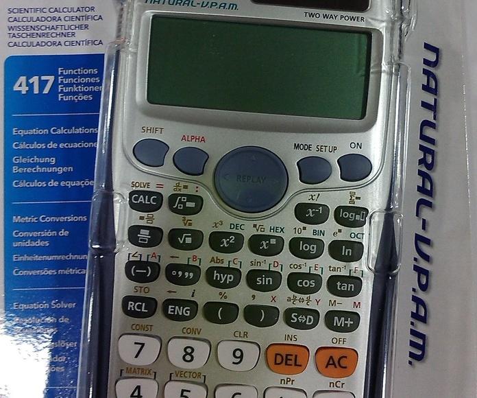 CALCULADORA CIENTÍFICA CASIO FX-991ES PLUS: Productos y servicios de Papelería Formatos