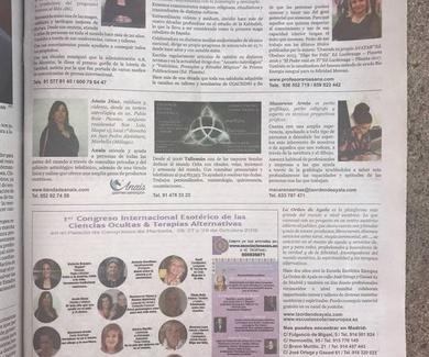 Talismán sale en el periódico el ABC