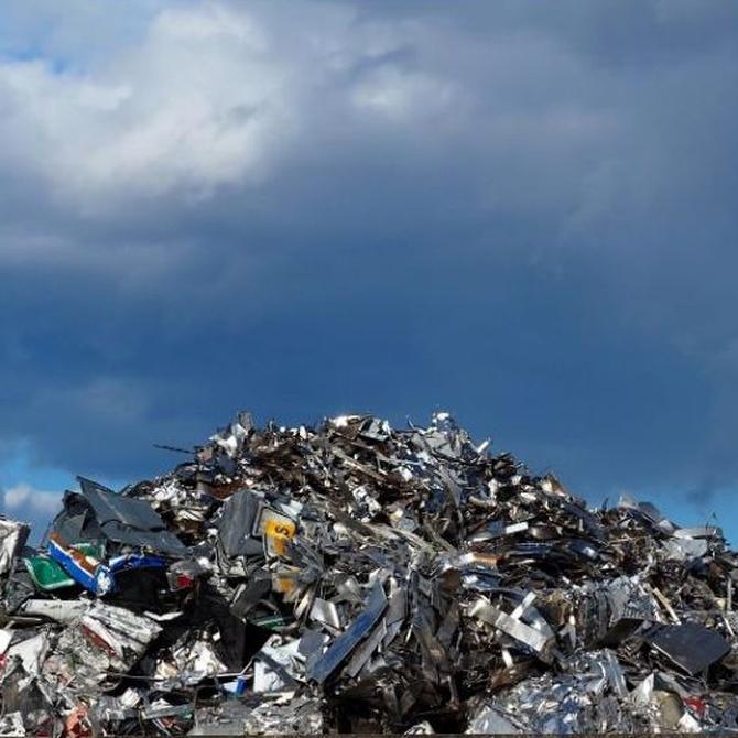 La conciencia en la recuperación y el reciclaje de metales
