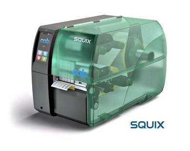 Nueva Impresora Industrial Cab SQUIX Label Printer