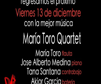 Fernando Barrios Quartet, homenaje a Jobim: Programación de Café Teatro Rayuela