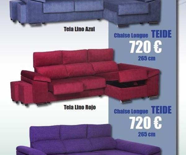 Promoción sofas