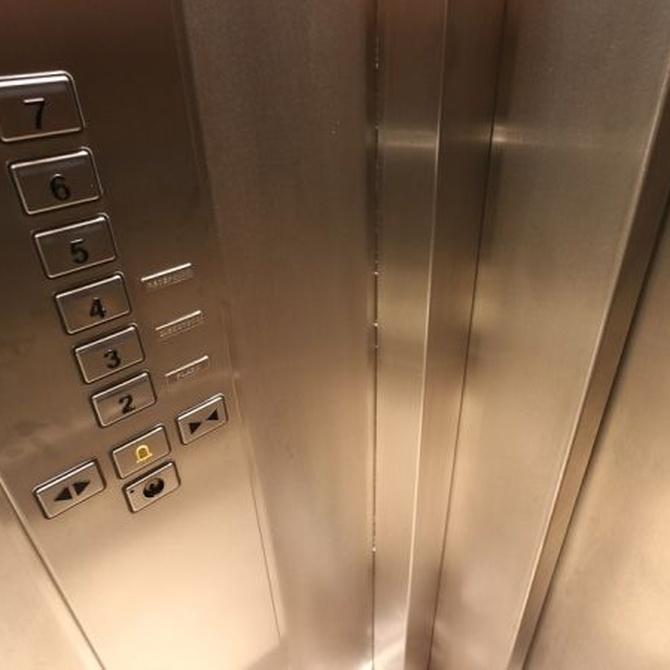 Cómo hay que limpiar los ascensores