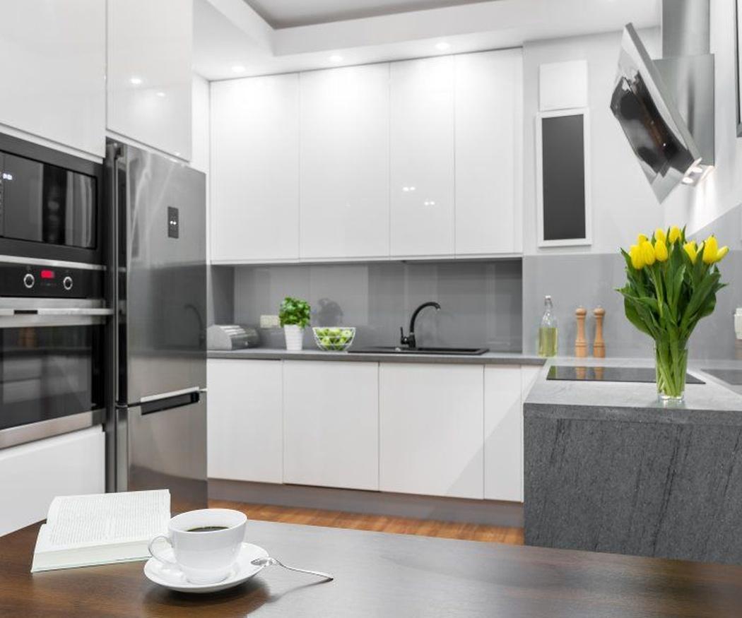 Ventajas de los muebles de cocina blancos