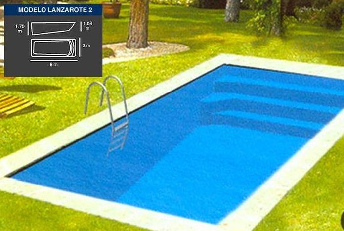 PISCINA LANZAROTE 2 (6 X 3 mtrs.): Productos y Servicios de Tecno Clima