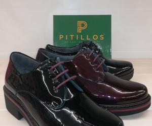 Zapatos a tres tonos