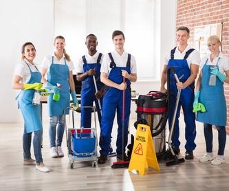 Limpieza fin de obra: Servicios integrales de DSC Servicios